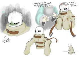 Asylumtale sans sketches by SweetSugerApple