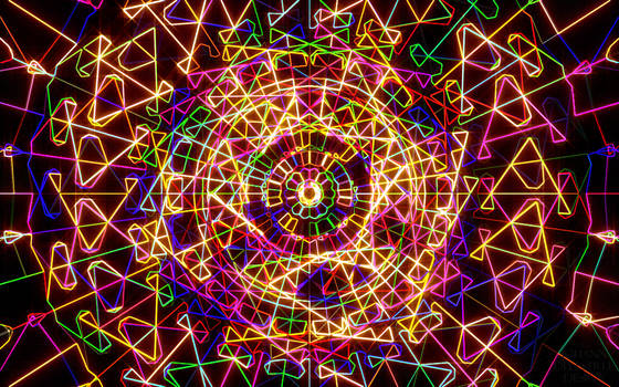 Color fractal by JohannDelestree
