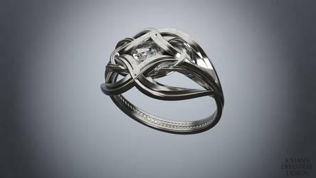 Engagement ring by JohannDelestree