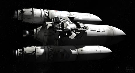 Spaceship by JohannDelestree