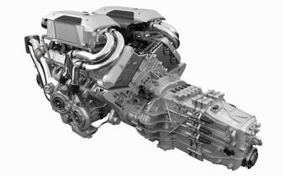 Bugatti Chiron Engine by JohannDelestree