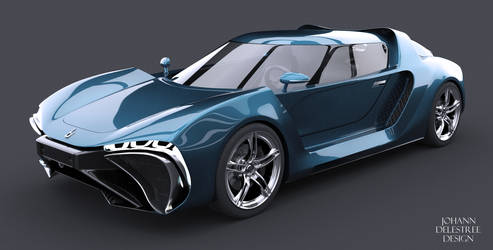 Concept car by JohannDelestree