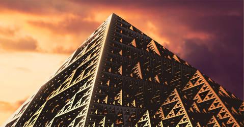 The Great Pyramid by JohannDelestree