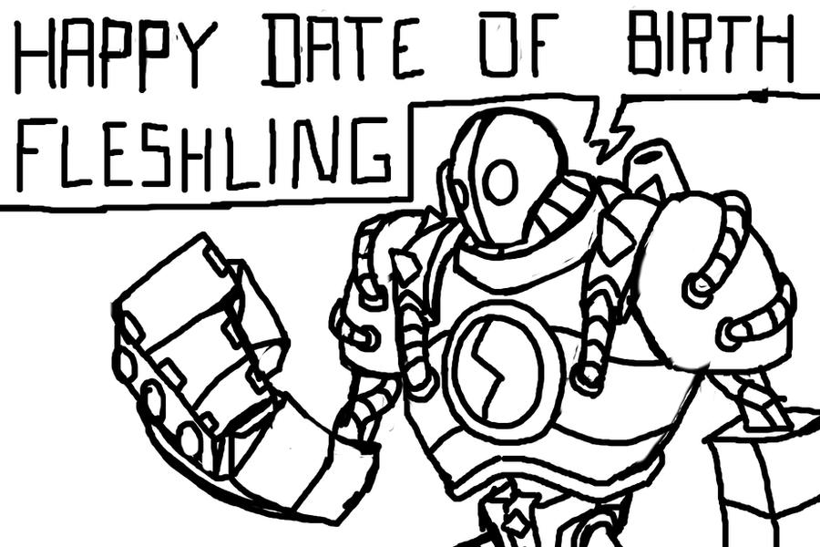 Happy Birthday ShinerCCC by ShinobiFerret