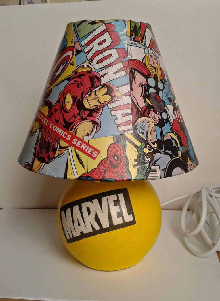 Marvel Lamp By Rednon ...