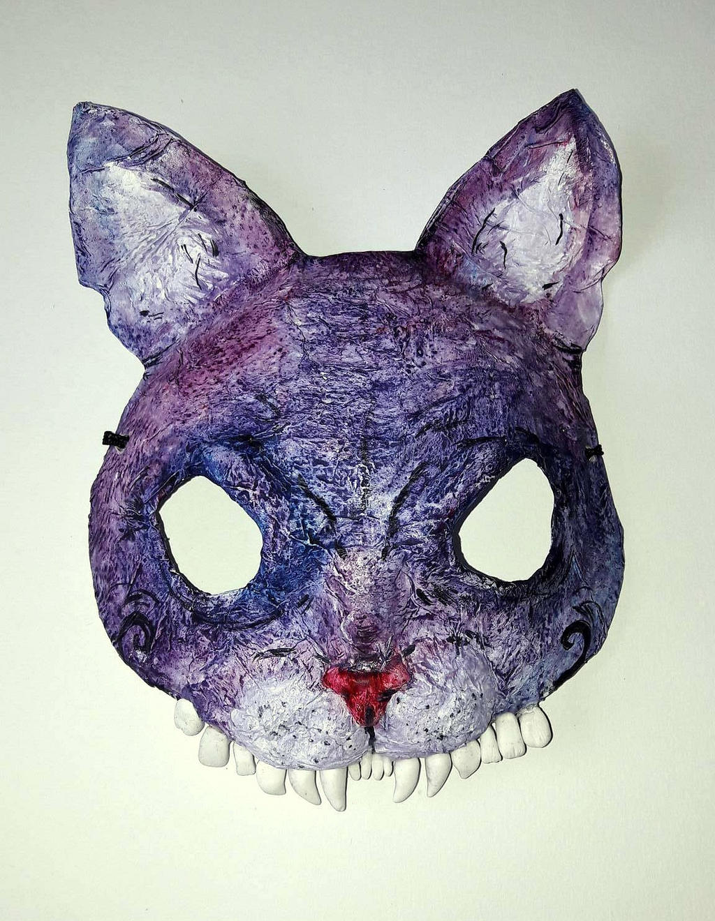 Halloween Cat Mask by Rednon on DeviantArt