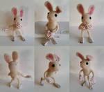 Felt Bunny by Rednon