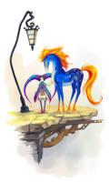 Starry Spirit Horse