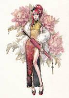 China Dress by Kutty-Sark
