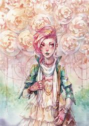 Rose Bubble Gum