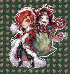 New Year Azuum and Ariel