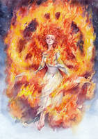 In Flames by Kutty-Sark