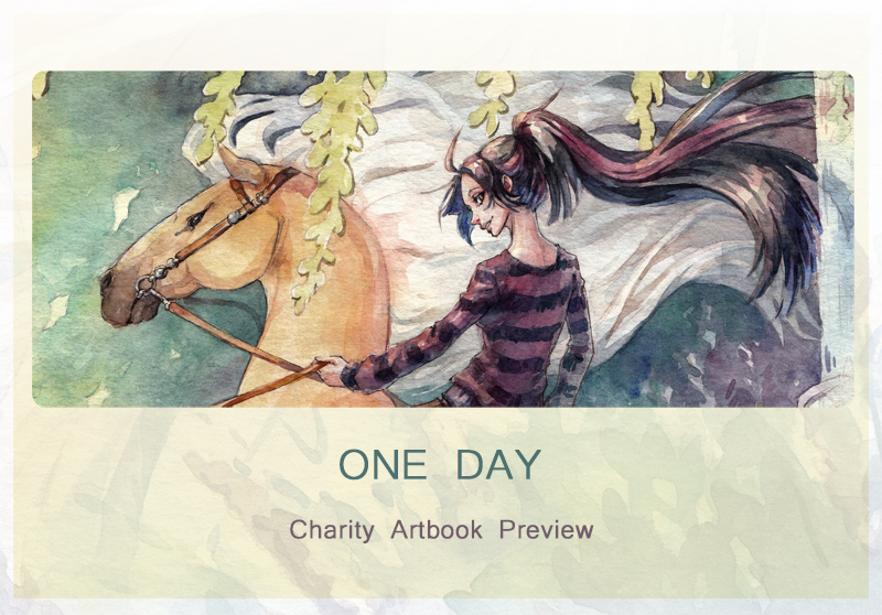 One Day - Charity Artbook Preview by Kutty-Sark