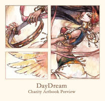 DayDream Artbook PREVIEW by Kutty-Sark