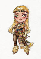 Chibi Commission: isi-a by Kutty-Sark