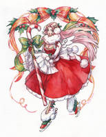 Christmas Fiore by Kutty-Sark