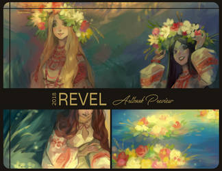 Revel Artbook Preview by Kutty-Sark