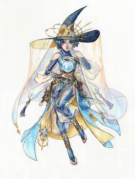 Sailor Witch Series: Sailor Mercury