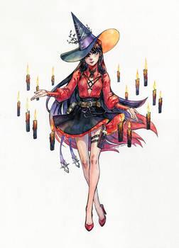 Sailor Witch Series: Sailor Mars