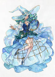Sailor Witch Series: Sailor Neptune