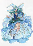 Sailor Witch Series: Sailor Neptune by Kutty-Sark