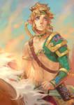 Link Fanart (Zelda: BOTW)