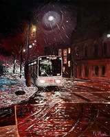 The Last Bus Home by FLOOKO