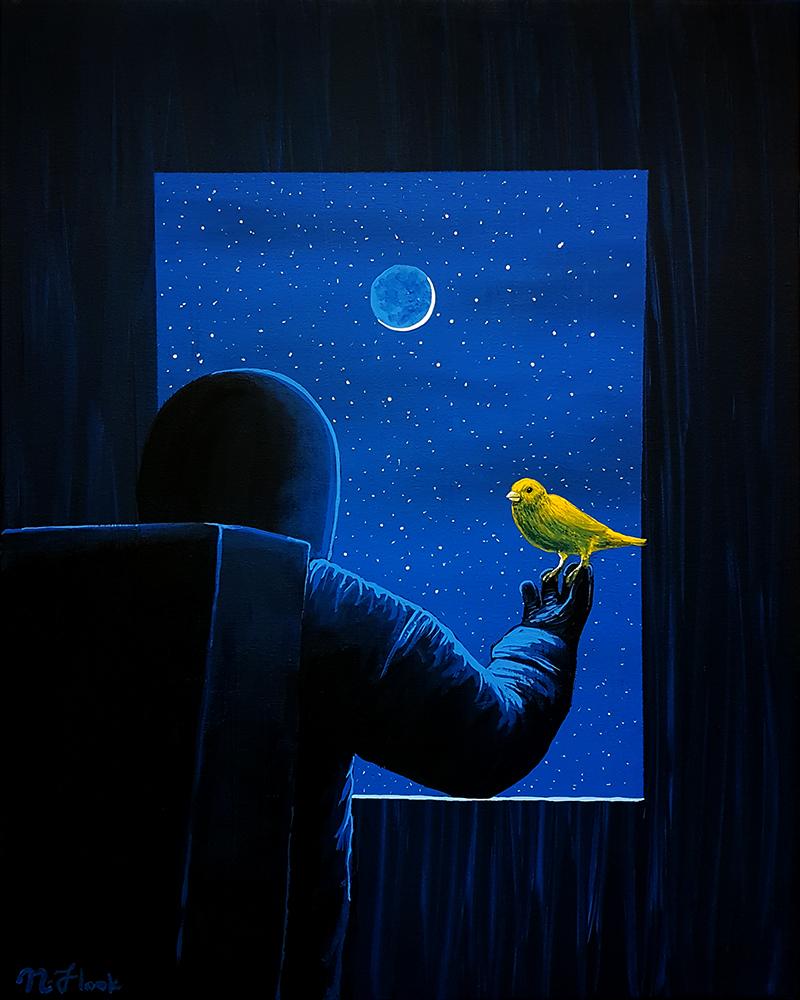 Moonlight Messenger by FLOOKO