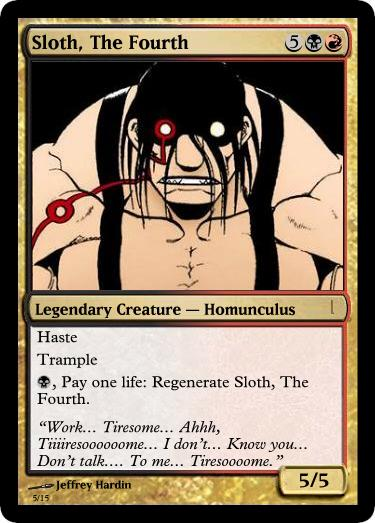 Full Metal Homunculi Custom Card Creation Magic Fundamentals