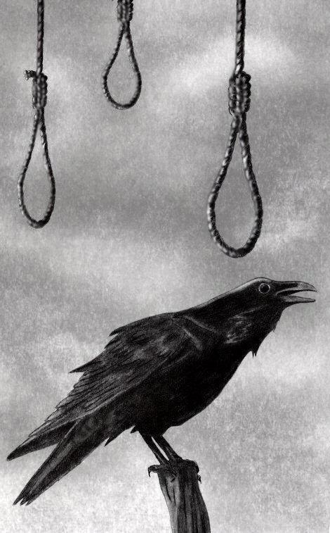 Death the Raven Cried by Naywyn