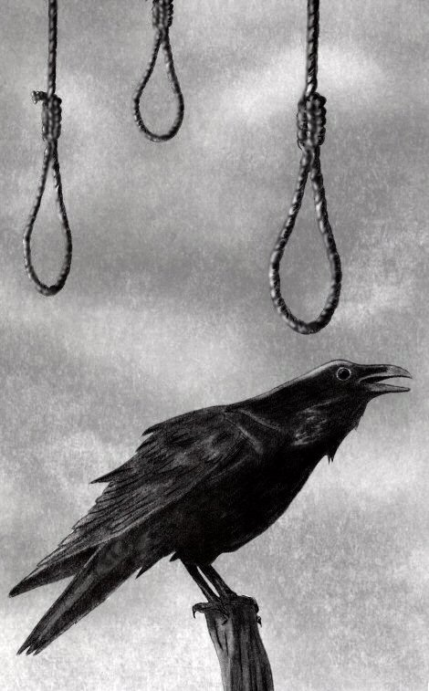 Death the Raven Cried