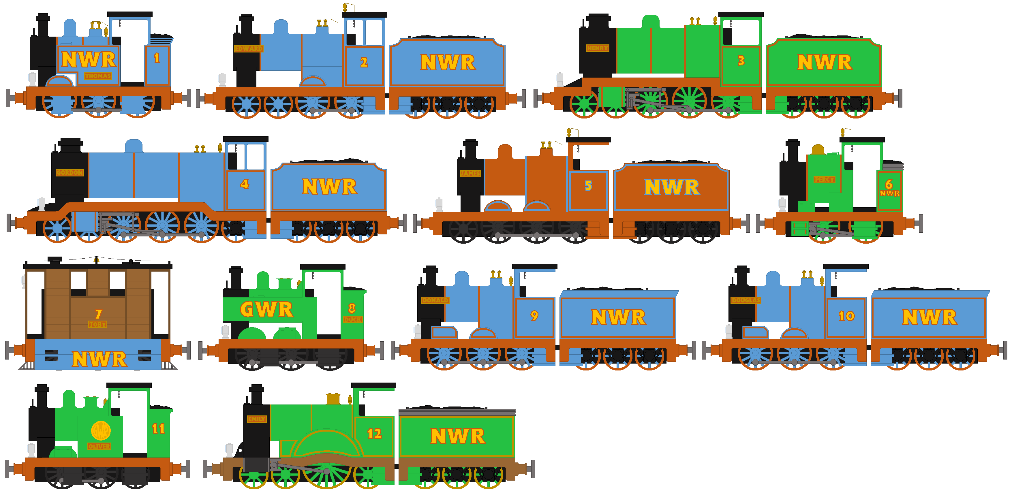 Image boco in trainz thomas and friends png scratchpad fandom - Theausterityengine Ttte Engines Pt1 Nwr Steam By Theausterityengine