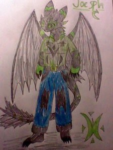 My second Night fury Sona: Joesph by Casirethedragon11