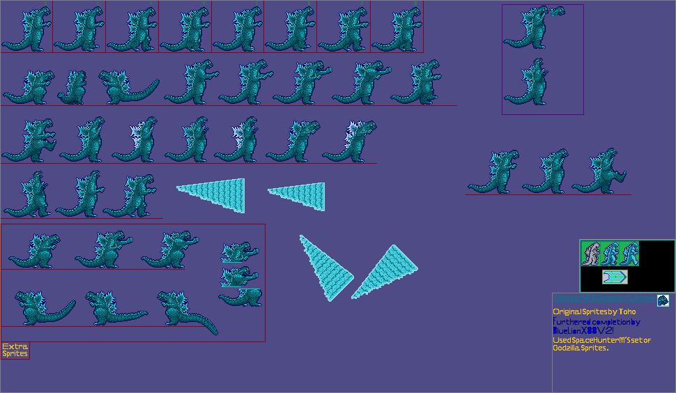 Classic Godzilla NES Custom Remake by BlueLionX88v2