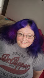 Purple Hair by MandyB82