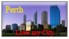 BE - Perth, Love my City Stamp by Kazma56