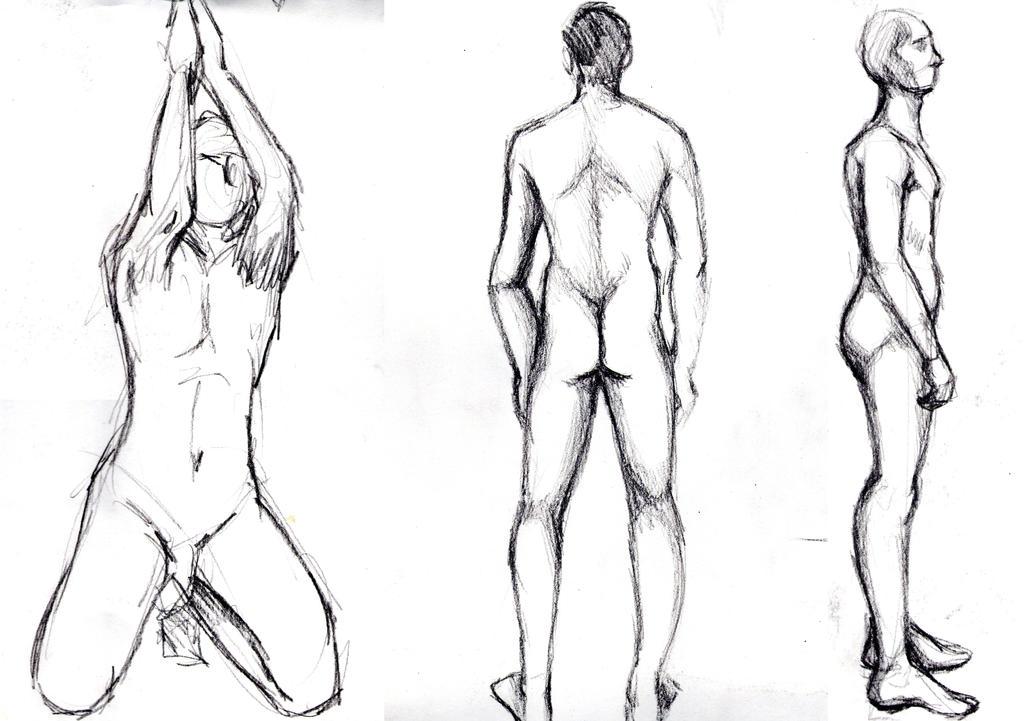 Figure Drawing Class Week 2 (daily sketch 120/365) by SvbwayShayla