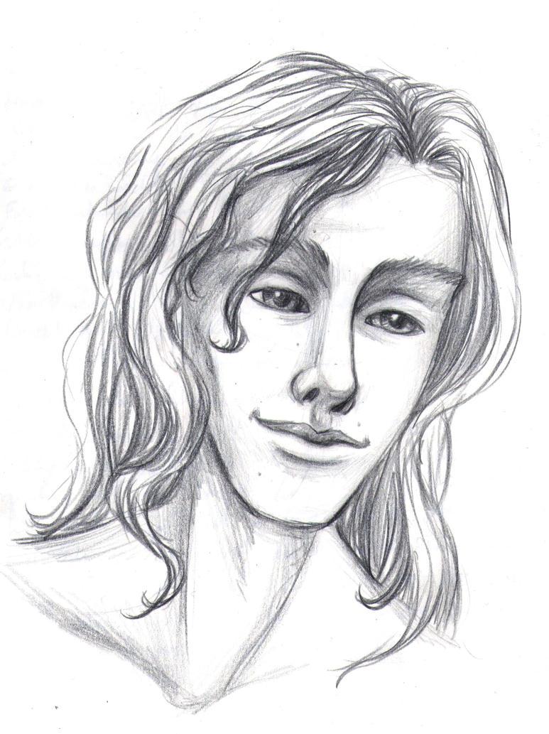 Ace Pencil Sketch (daily sketch 121/365) by SvbwayShayla
