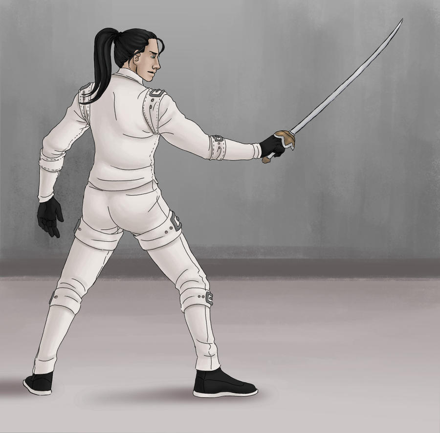 Fighting Stance by SvbwayShayla