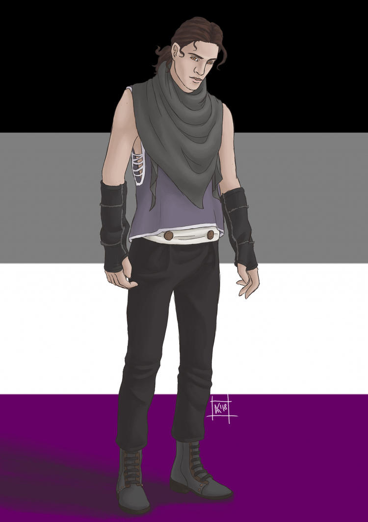 Asexual Pride - Alistair by SvbwayShayla