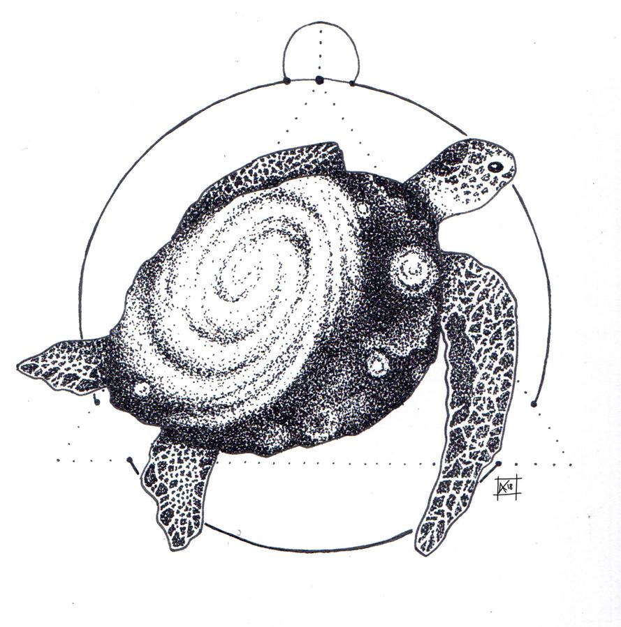 Space Turtle. by SvbwayShayla