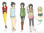 Hane Modern Outfits Ref