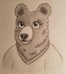 Tina (Sketch) by GeminiShadows
