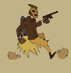 The Rocketeer by Robo-Chomp