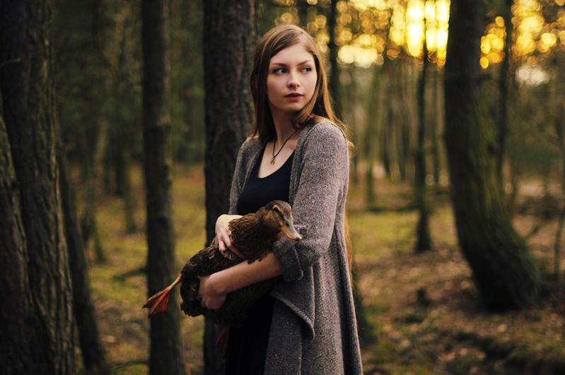 Duck friend by lorendil