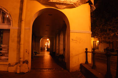 Klaipeda by night