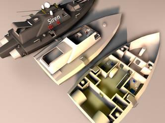 Stargate Gunboat WIP 1 by SajuukkuujaS
