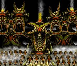 Temple Legion by KaiOwen