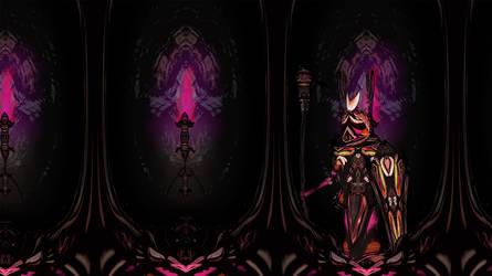 Dark corridor, sidescrolling by KaiOwen