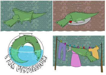 Contrary croc by KaiOwen